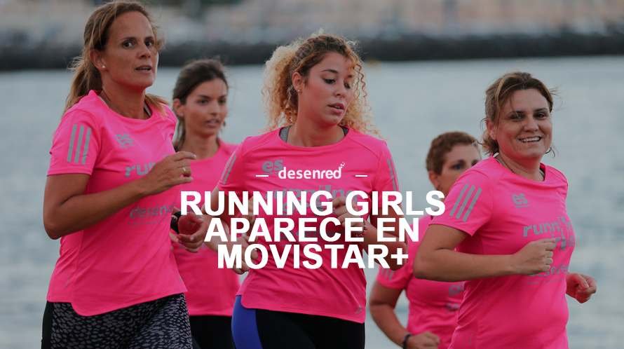 Las running girls en el programa de maraton man movistar+