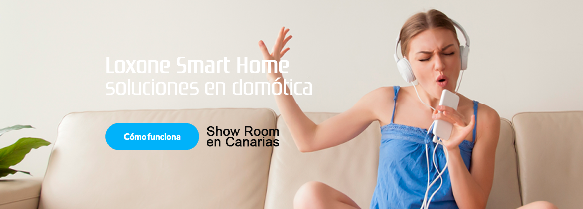 domotica smart home loxone canarias